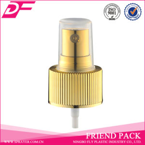 Beautiful Design Metal Made Ribbed Mist Perfume Sprayer with Head