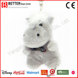 Stuffed Animal Keychain Plush Hippo Soft Toy Key Rings pictures & photos