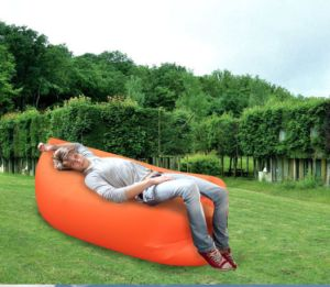 Inflatable Air Sofa Air Lounger Waterproof Lazy Sleeping Laybag Colorful Sleeping Bag pictures & photos