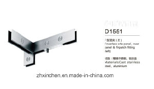 Xc-D1551 (left) Stainless Steel Side Panel/Over Panel Top Patch Fitting pictures & photos