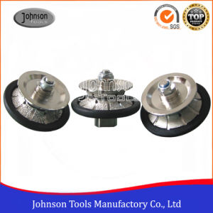 65-105mm Full Bullnose Diamond Vacuum Brazed Hand Profile Wheel for Stone Edging pictures & photos