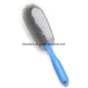 Double Bristle Wheel Car Brush pictures & photos