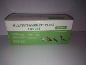 Multivitamin (Vit Plus) Tablet (Birds Tablets) pictures & photos