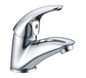 Comtemporary Single Lever Bathroom Basin Faucet /Tap (CAG40261) pictures & photos