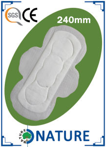 Good Quality Perforated film Sanitary Towels for India pictures & photos