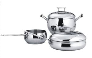 3ply Body Stainless Steel Cookware pictures & photos