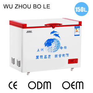 Hot Sale Single Temperature Top Open Single Door Chest Freezer