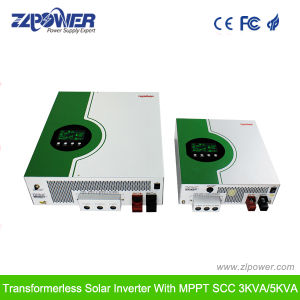 High Frequency Pure Sine Wave Inverter Built-in MPPT Solar Controller 3kVA pictures & photos