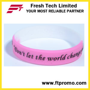 OEM Gift Items Custom Silicone Wristbands for Sport pictures & photos