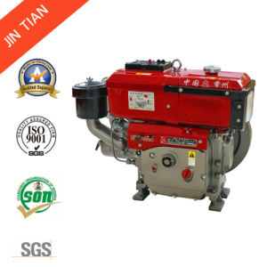 New Style Single Cylinder Diesel Engine with Light (JR192L) pictures & photos