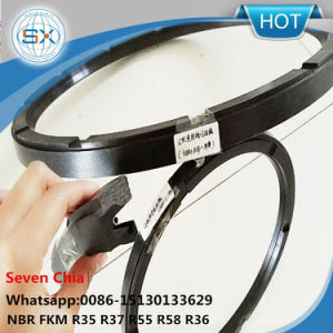 NBR Viton HNBR G/J Type Cloth Rotary Hydraulic Oil Seal pictures & photos