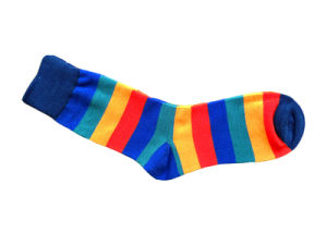 Cotton Women Plain Socks with Fashion Designs (fp-2) pictures & photos