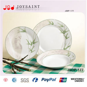 Latest Fashion Porcelain Dinnerset Most Popular Ceramic Tableware Set pictures & photos