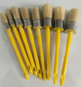 Round Painting Brush with Plastic Handle pictures & photos