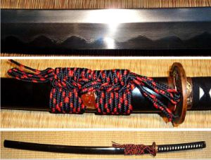 Tiger Dragon Katana with T10 Folded Steel pictures & photos