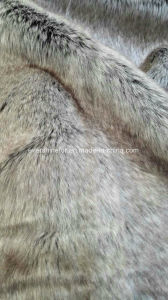 Imitation Animal Fur Knitted Fabric for Colar Trimming pictures & photos