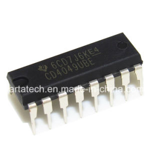 CD4049ube CD4049 Hef4049ubp CMOS Hex Buffer/Converter IC pictures & photos