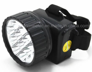 LED Headlight Rechargeable X1212 Flashlight Torch W/ 12LED pictures & photos