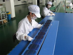 156*156 A Grade Polycrystalline Solar Cell pictures & photos