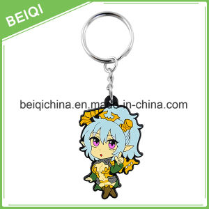 Manufacture Custom Soft Rubber Keychain PVC 3D Key Chain pictures & photos