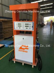 Zcheng Orange Color Fuel Dispenser Petrol Station Double Pump Mega Series Fuel Dispenser pictures & photos