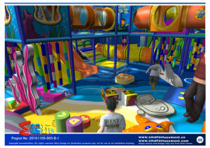 Innovation Play Ocean Themed Indoor Playground for Children pictures & photos