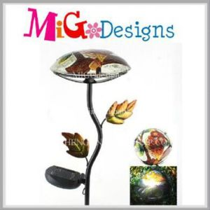 Top Quality Mushroom Shaped Solar Light Metal Garden Stake pictures & photos