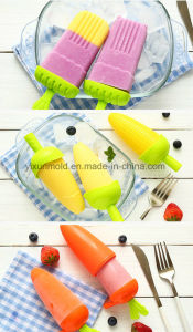 Customized Moulded Food Grade Lolly Plastic Ice Popsicle with Sticks pictures & photos