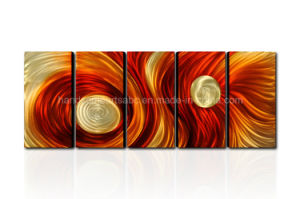 Newest Colorful Abstract Metal Art From China pictures & photos