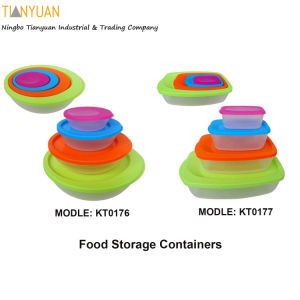 4PCS Food Storage Containers, Food Storage Container