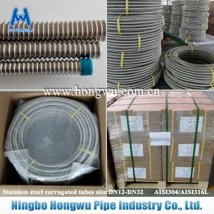 Naked Gas Csst Dn20 1 Inch Corrugated Flexible Hose pictures & photos