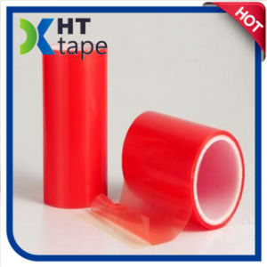 0.2mm Red Film Pet Double Sided Tape pictures & photos