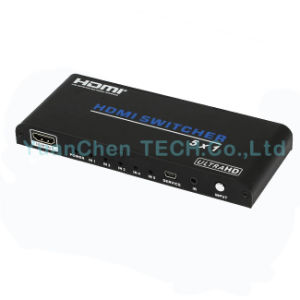 Support 3D 1080P 4kx2k 5X1 HDMI Switcher for Video pictures & photos