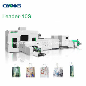 Leader Non Woven Box Bag Making Machine pictures & photos