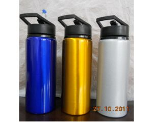 750ml Hot BPA Free Metal Water Bottle, New Style Aluminum Bottle Factory pictures & photos