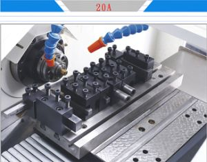 By20c 4-Axis High Speed Precision Gang Tool CNC Lathe Price pictures & photos