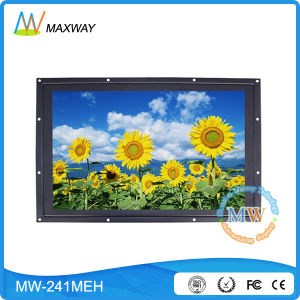 Portable 24 Inch LCD HDMI Monitor with AV/Cvbs, Cat5 Custom Design (MW-241MEH) pictures & photos
