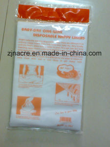 Baby Nonwoven Disposable Flushable Nappy Diaper Liner pictures & photos