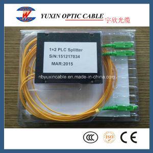 1X2 PLC Splitter with Sc/APC Connector