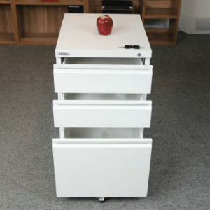 Combination Lock Filing Cabinet with 3 Drawer Fire Resistant File Cabinet pictures & photos