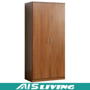 Oak Wooden Furniture Antique 2 Door Wardrobe Closet (AIS-W113)