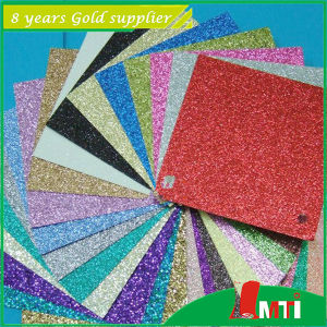 PVC Paper Factory Glitter for Decoration pictures & photos