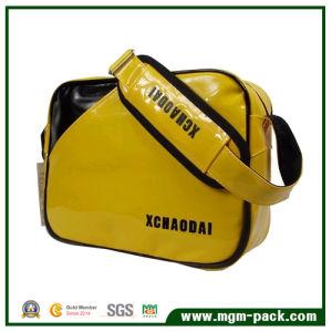Durable Waterproof Yellow PVC Single Shoulder Leisure Bag pictures & photos