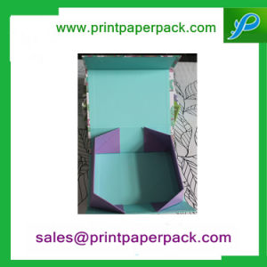 Custom Foldable Cardboard Paper Gift Box pictures & photos