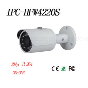 2MP Full HD Network Small IR Bullet Camera {Ipc-Hfw4220s} pictures & photos