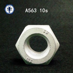 A563 10s Hex Nut H. D. G pictures & photos