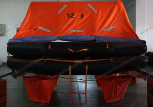 Solas 12 Persons Throw Overboard Inflatable Liferaft pictures & photos