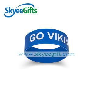 Free Design Embossed Silicone Wristband Used for Activity pictures & photos