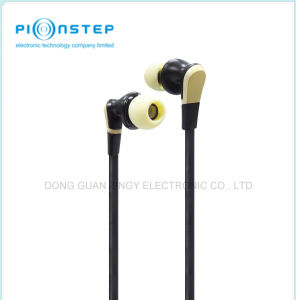 Plastic Housing Earphone with UV Oil