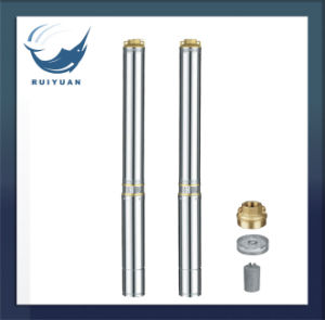 "3"" Electric Borehole Brass Deep Well Submersible Pump Cheap Price 3SD S. S Water Pump for Indian pictures & photos"